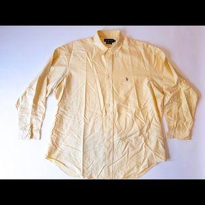 🐎🔥 Ralph Lauren Yarmouth Oxford Yellow SZ 18-36